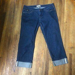 Banana Republic Size 6 / 28 Capri Jeans Stretch